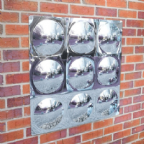 9 Bubble Outdoor Mirror
